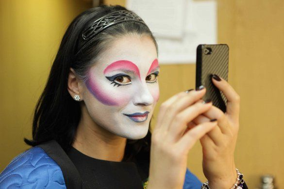 Маша Єфросиніна спробувала себе в ролі артистки Cirque du Soleil_2
