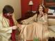 Одруження було таємним і тихим