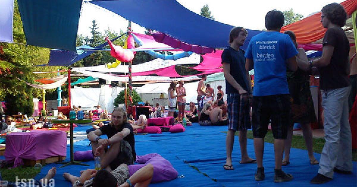 """У Будапешті триває фестиваль """"Sziget-2010"""" @ ТСН.ua"""