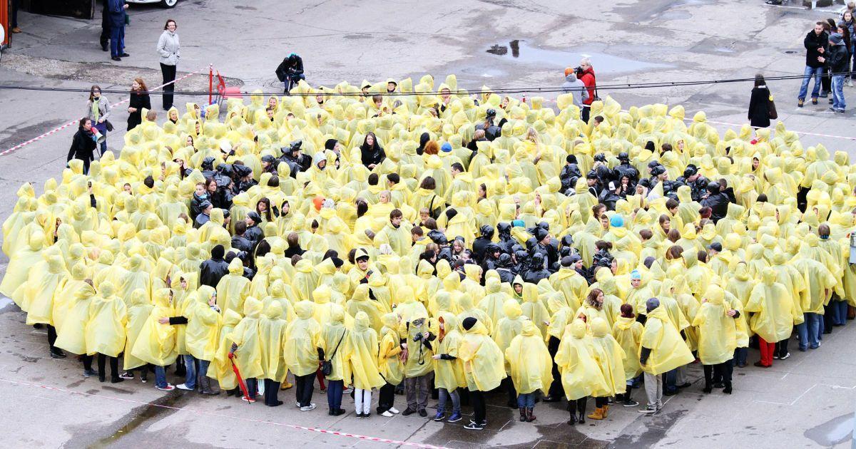 """Тисячі студентів спробували """"достукатися"""" до іншопланетян @ DELFI"""