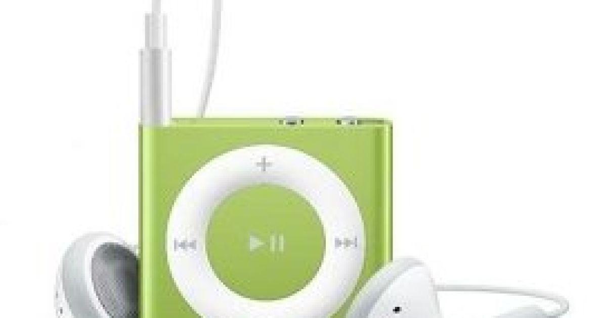 Плеєр iPod shuffle @ Apple