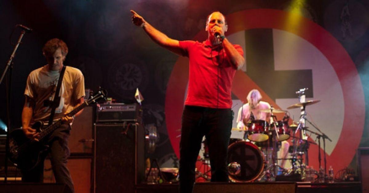 Виступ каліфорнійськіх панк-рокерів Bad Religion @ sziget.hu