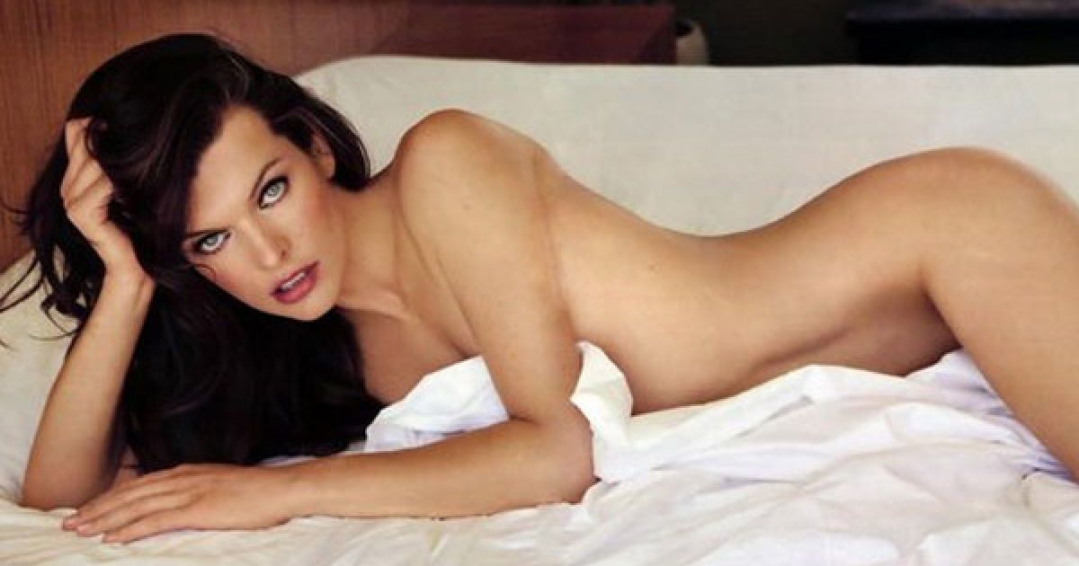 Milla Jovovich / Милла Йовович Голая Фото Видео