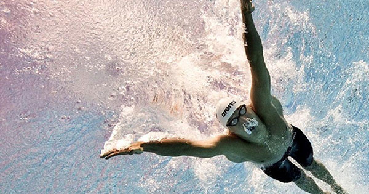 Угорщина, Будапешт. Польський спортсмен Марцін Цеслак під час кваліфікаційного запливу на 200 м серед чоловіків стилем баттерфляй на Чемпіонаті Європи з водних видів спорту, який проходить у Будапешті. @ AFP