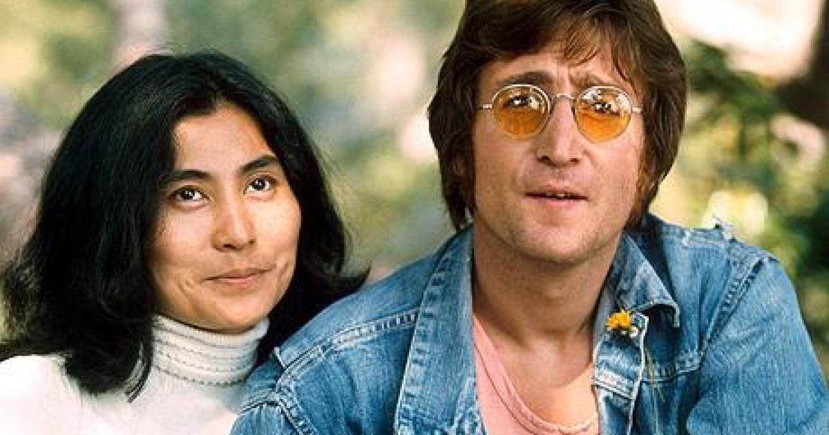 Джон Леннон та Йоко Оно @ Архів