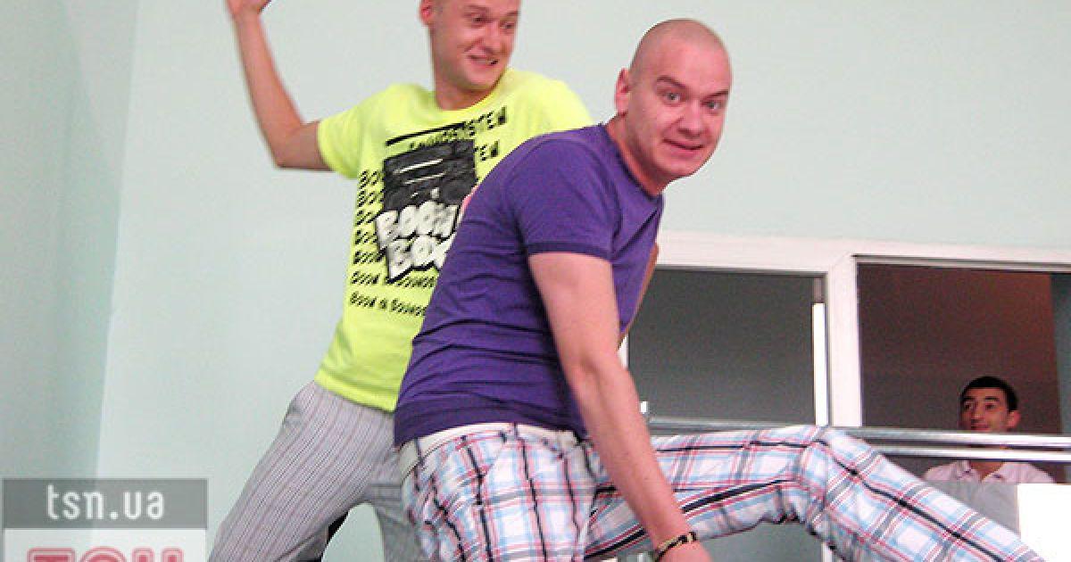 Андрей Хлывнюк и Евгений Кошевой