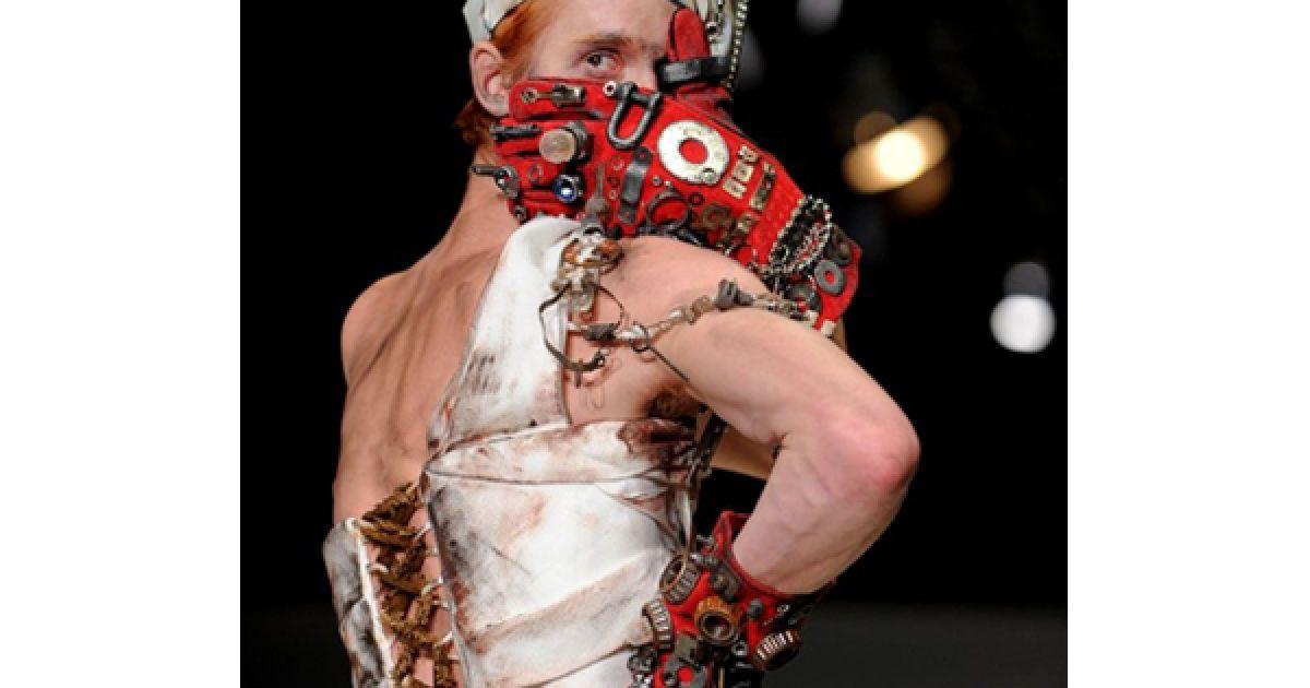 """Показ дому """"Лабораторія 13Є на Російському тижні моди у Москві. @ AFP"""