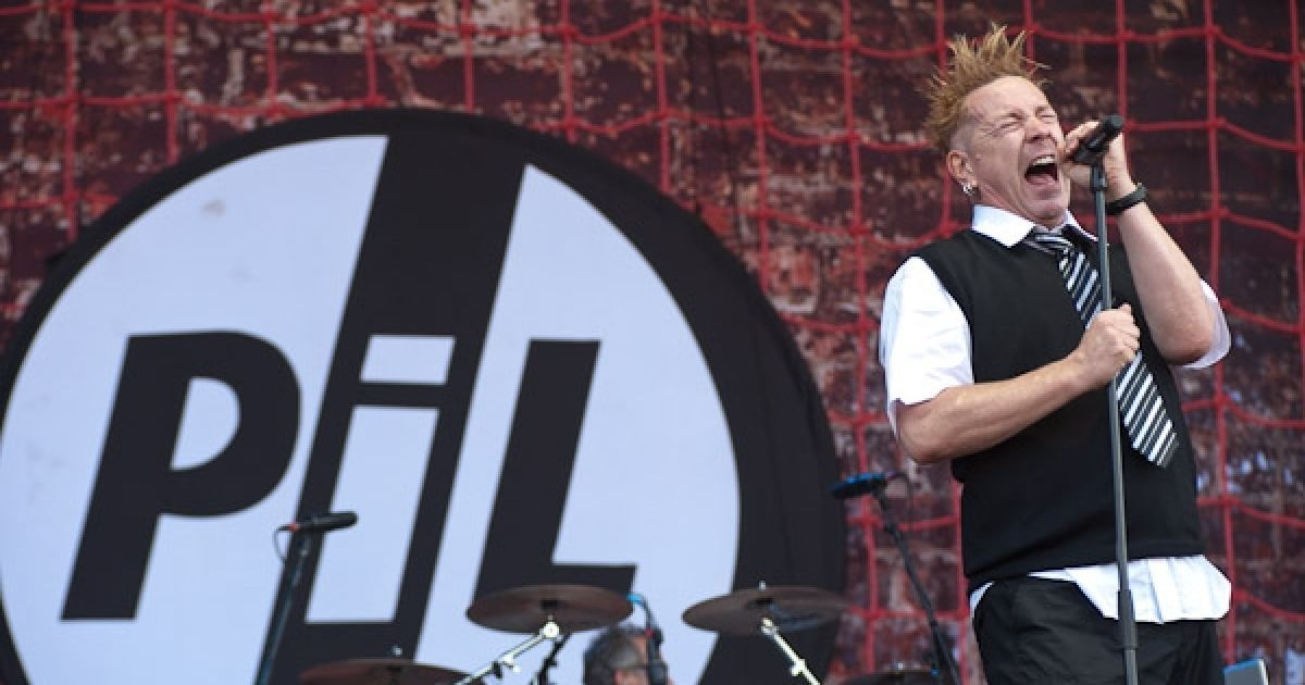 """У другий день фесту публіку розважав Джон """"Роттен"""" Лайдон з гуртом PIL @ sziget.hu"""