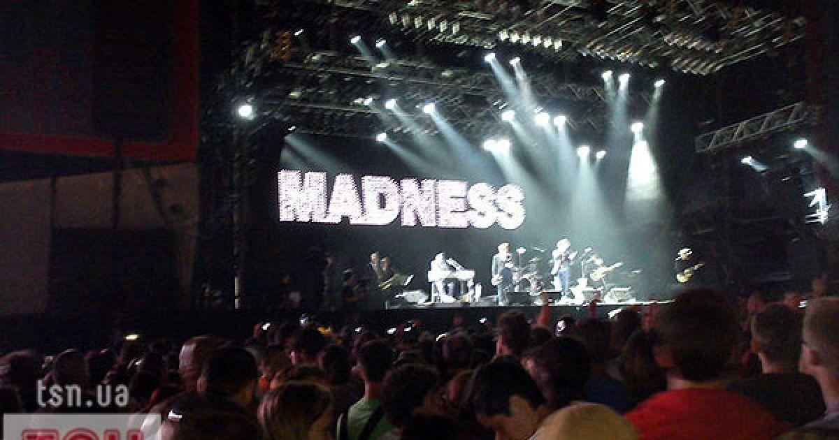 Закривали перший день фестивалю на головній сцені Madness @ ТСН.ua