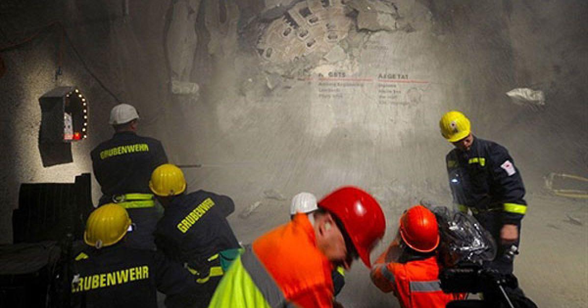 57-кілометровий Готардский тунель прокладений під Альпами @ AFP