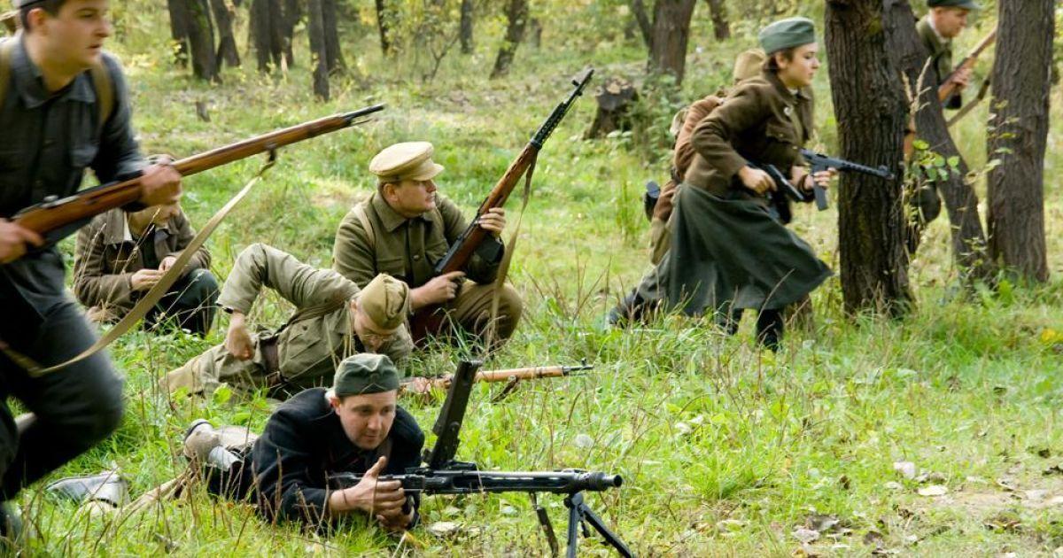 Бій УПА з радянськими солдатами @ ZAXID.NET