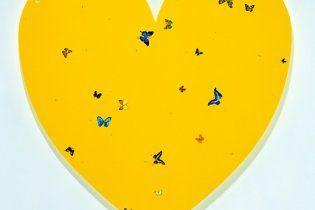 Ярославский и Фирташ приобрели картину Дэмиена Херста In Love за 1,75 млн евро