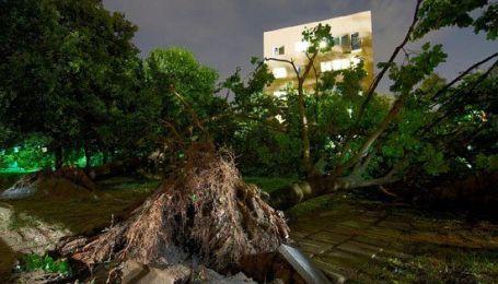 Мощный ураган в Польше