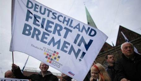 Германия отмечает 20 лет объединения