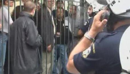 Греческая полиция разогнала работников минкультуры, которые заблокировали Акрополь
