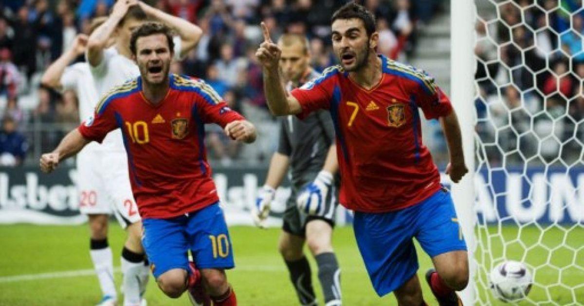 Беларуси и испания футбол