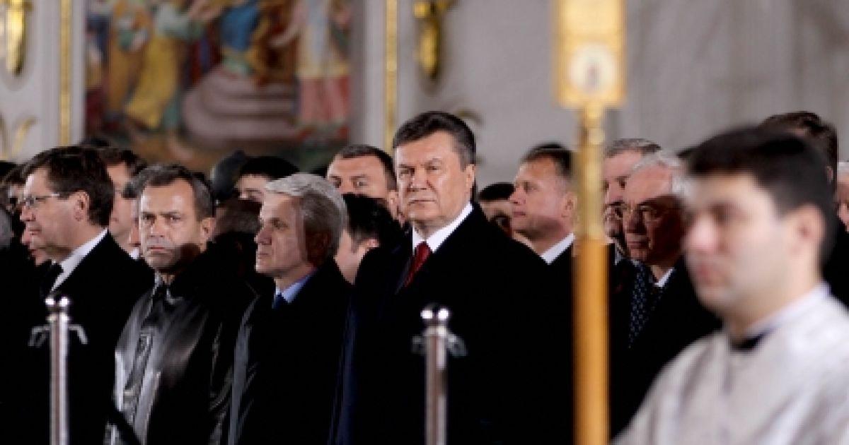 Всеношна у Лаврі @ Офіційний сайт Президента України