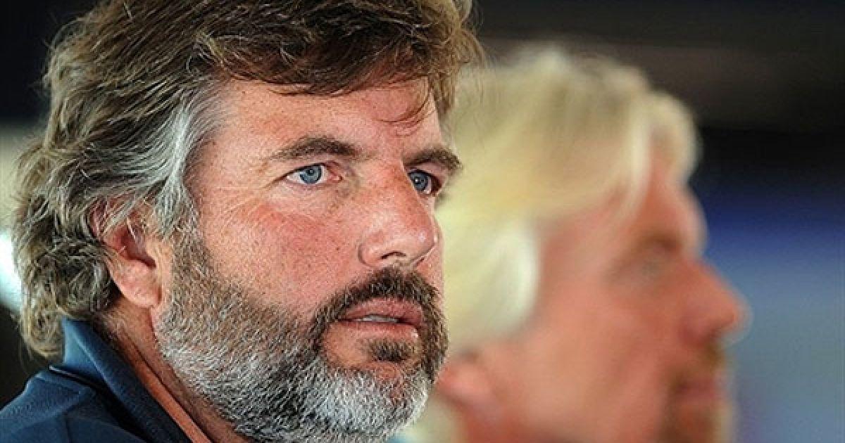 Сопровождать Брэнсона в путешествиях будет его приятель-путешественник Крис Уэлш @ AFP