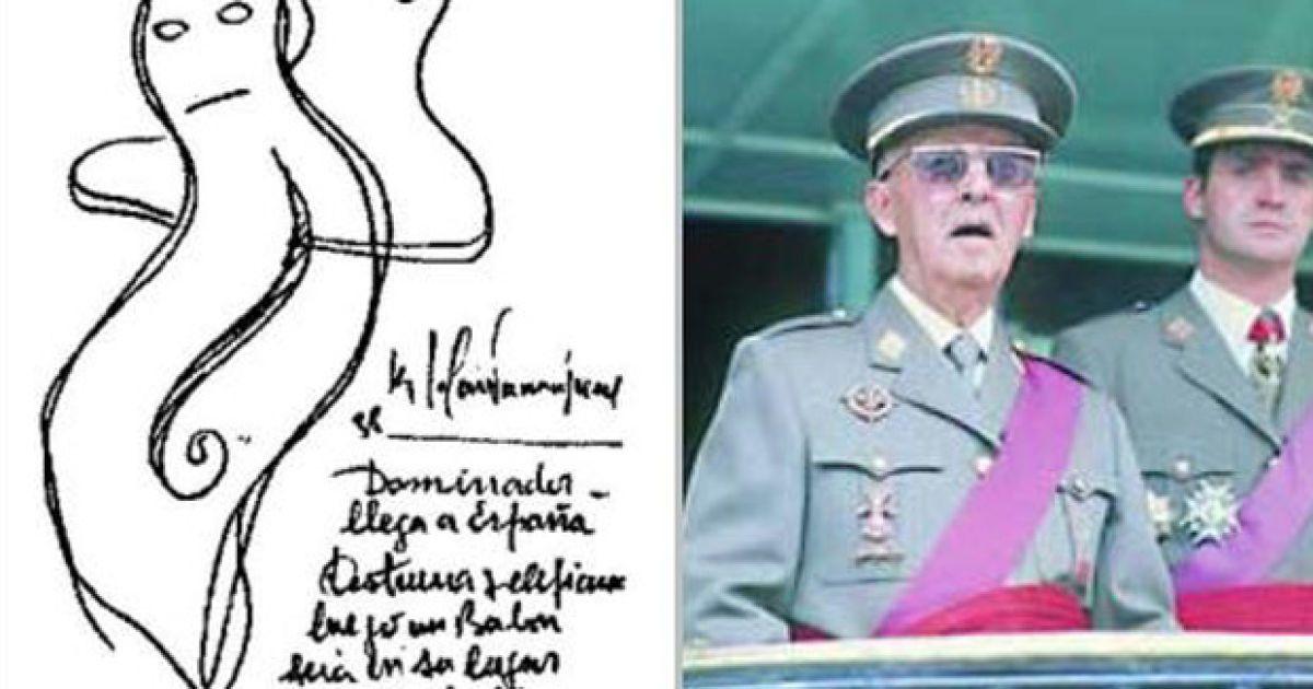 """""""В Испании к власти придет диктатор, который разрушит страну. Вслед за ним на трон взойдет Бурбон, и тогда ослабленный тиран убежит в Аргентину, если только ему позволит здоровье"""" (1938). @ Life News"""