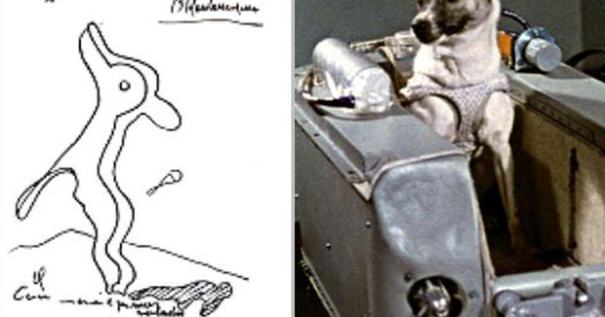 """""""Собака станет первой, кто полетит в космос"""" (1938). @ Life News"""