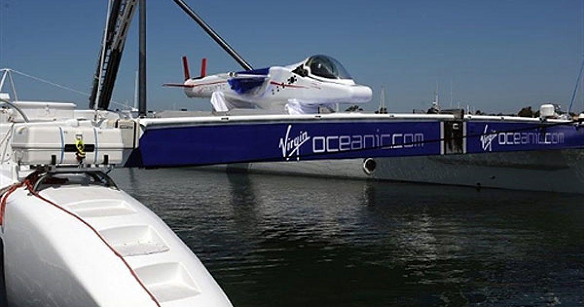 Субмарина Virgin Oceanic может погружаться на рекордные глубины до 10 километров @ AFP