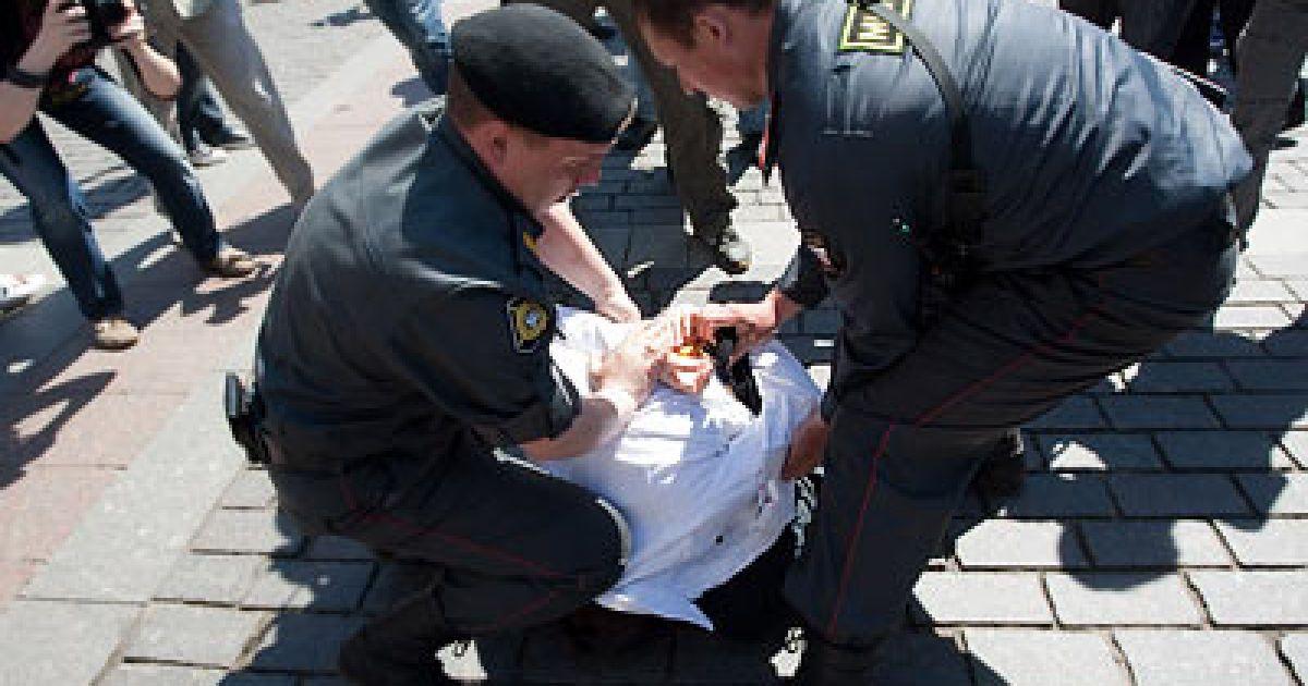 Гей-парад у Москві @ Новая газета