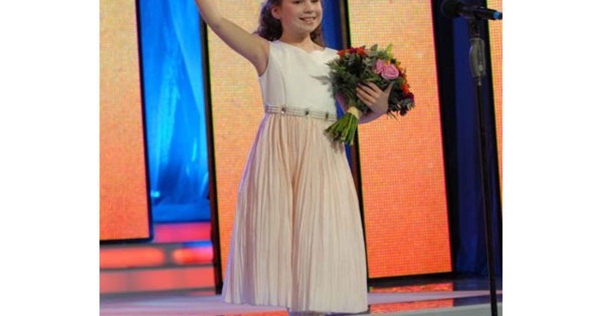 Київська дівчинка з унікальним голосом — Соломія Лук'янець.