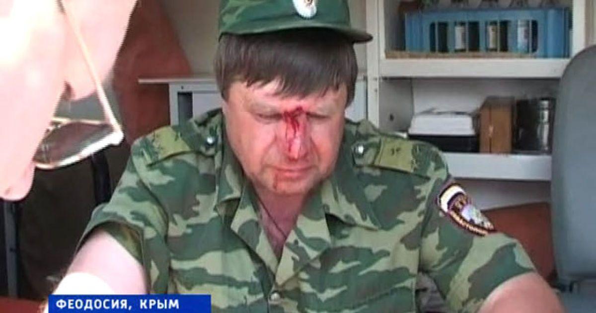 Массовая драка в Крыму @ Вести