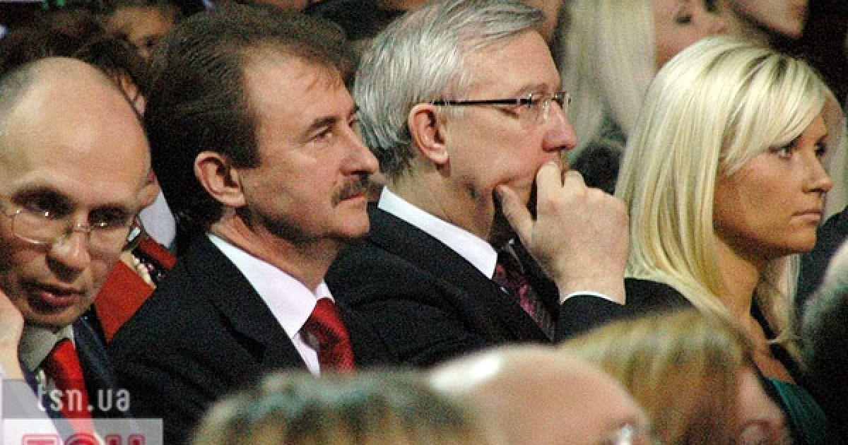 Голова КМДА Олександр Попов і Віталій Журавський. @ ТСН.ua