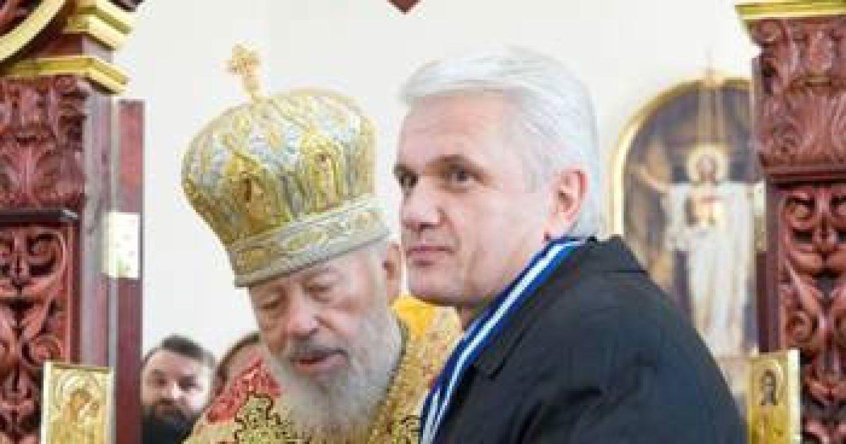 Литвин та митрополит Володимир @ risu.org.ua