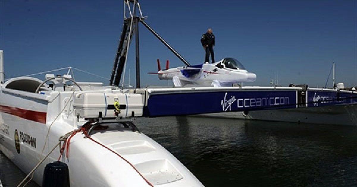 Virgin Oceanic может погружаться на глубину 10 километров. @ AFP