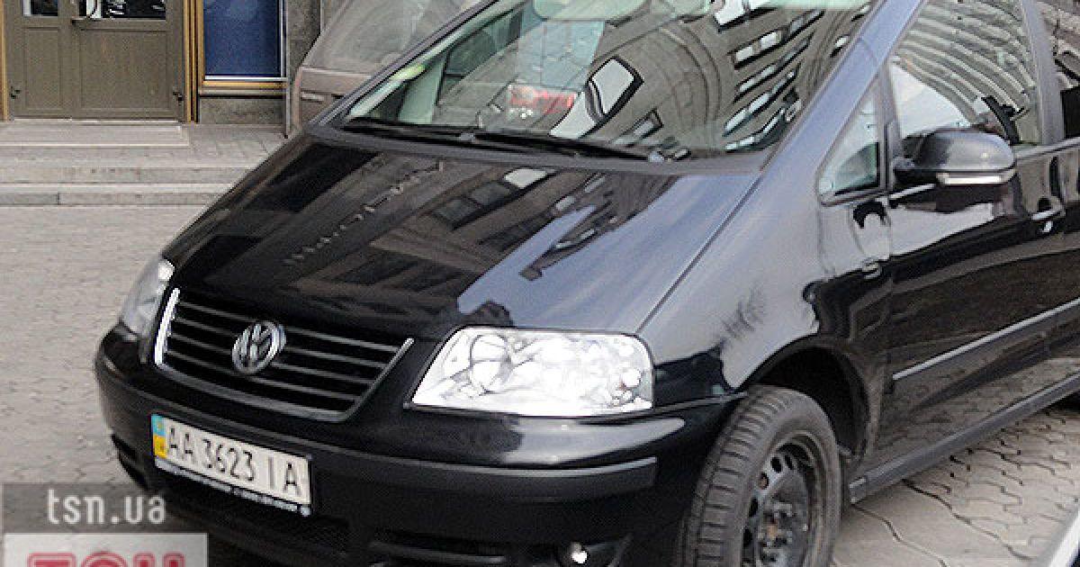 Volkswagen Sharan, яким пересувається Блаженнійший @ ТСН.ua