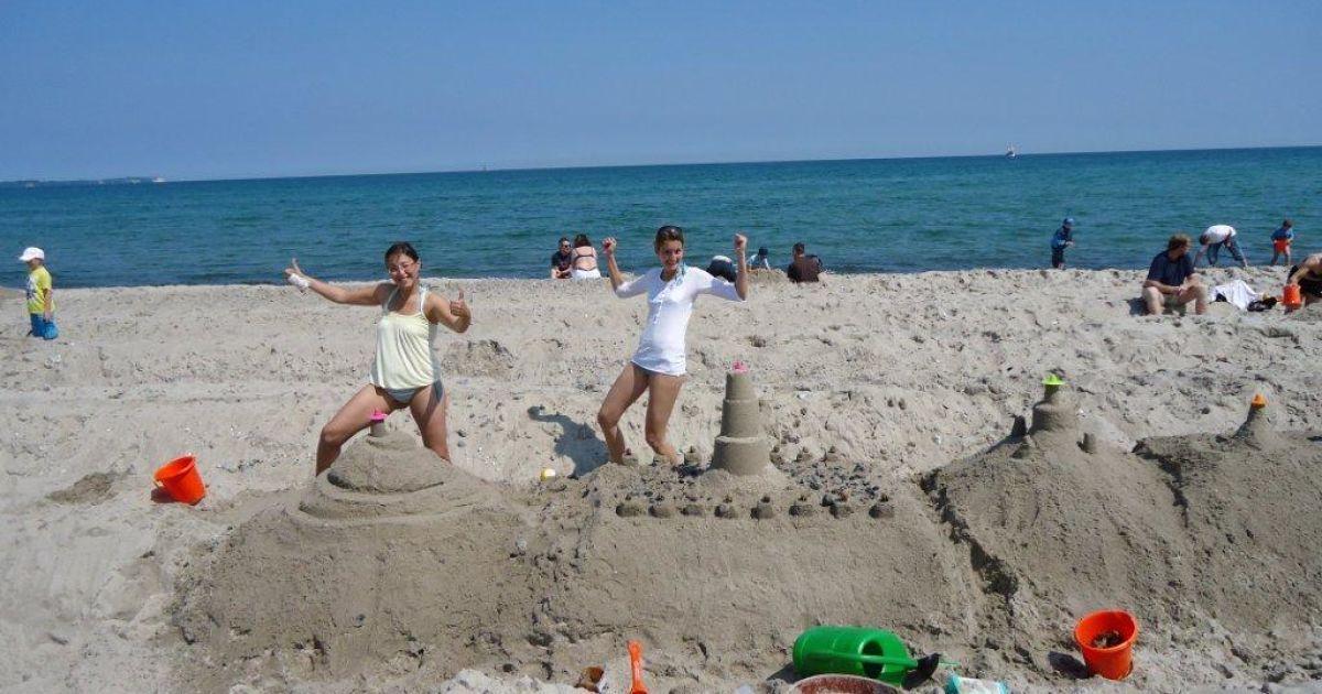 На пляжі у Німеччині звели піщаний замок завдовжки 27,5 кілометрів @ extreme-insider.de