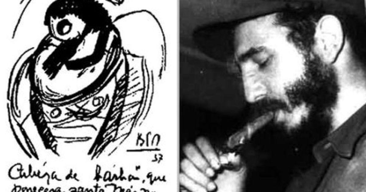 """""""Человек с бородой, который всем покажется святым, зажжет Антильские острова"""" (1937). Ровно через год Парравичини добавил: """"На Кубе победу одержат бородатые"""". @ Life News"""