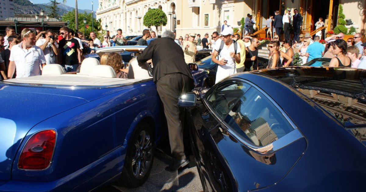 Резонансне ДТП у Монако @ forum.onliner.by