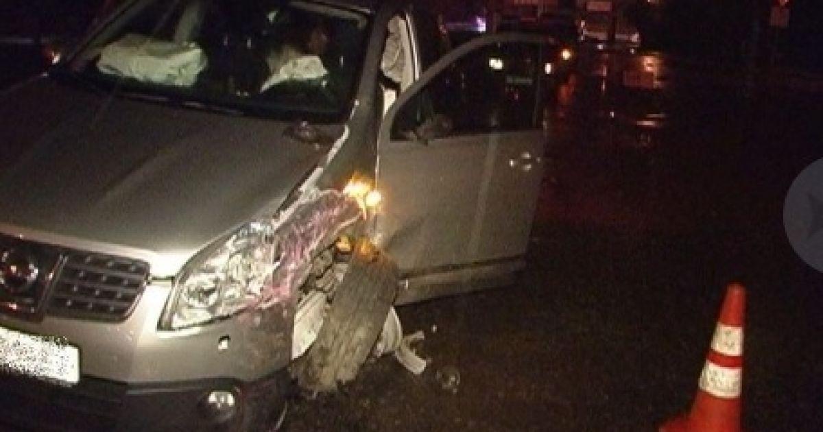 Фото з місця аварії з Андрієм Шкілем @ Магнолія-ТВ