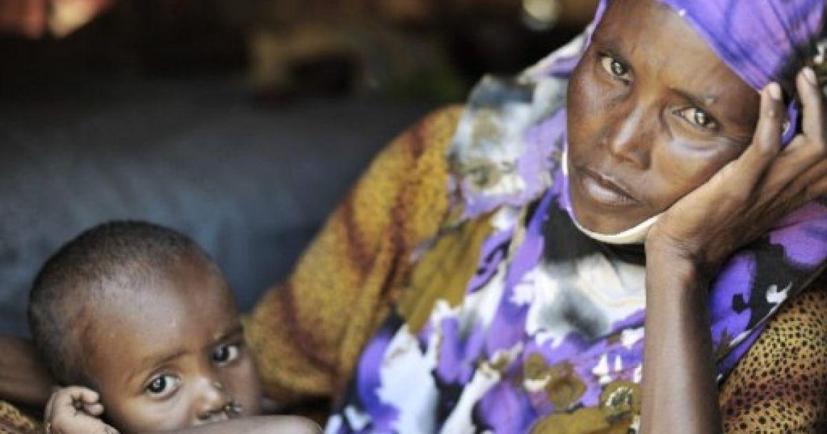 Голод в Сомалі @ AFP