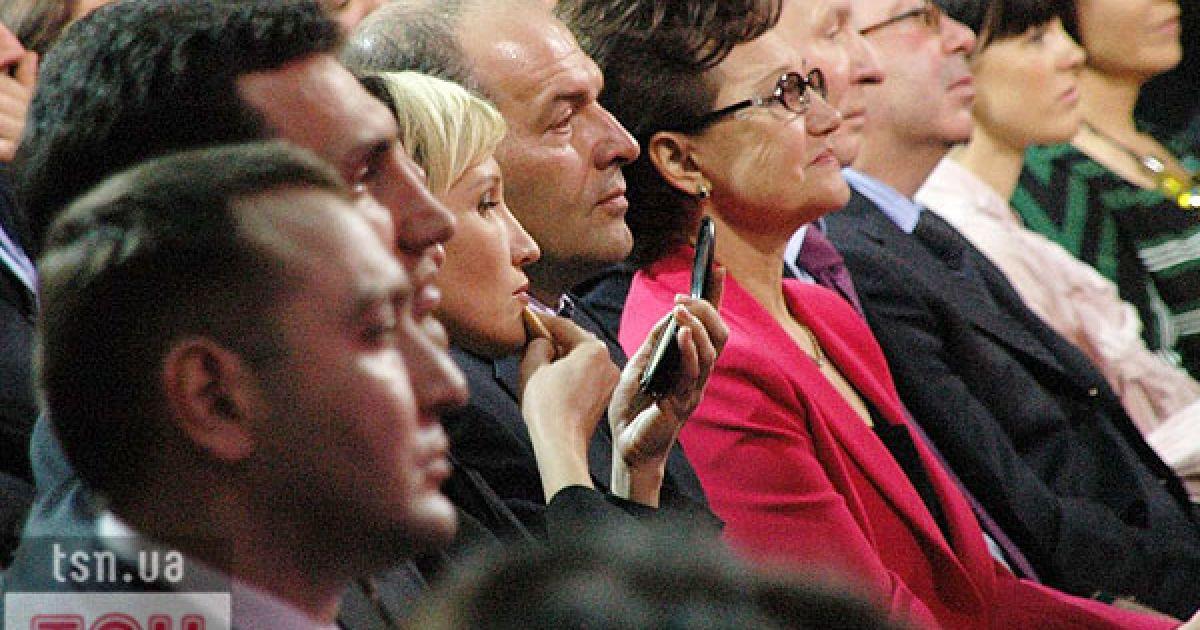 Леонід Данилович з дружиною, зятем і дочкою. @ ТСН.ua