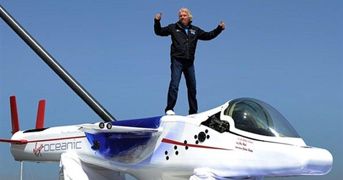 В Великобритании презентовали уникальную миниатюрную подлодка Virgin Oceanic @ AFP