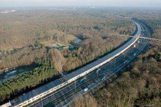 У Європі запустили перший потяг на сонячній енергії