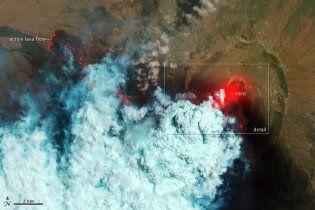 Унікальні кадри NASA із середини африканського вулкану