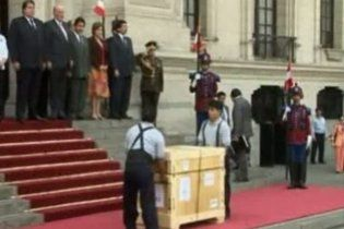 Американці повернули Перу їх національні скарби