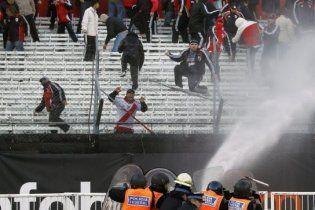 Масові безлади влаштували в Аргентині футбольні фанати