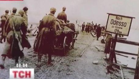В Одессе выпустили плакат, где ветеранов поздравляют румынские оккупанты