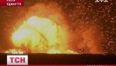 Взрывы на артиллерийских складах в России