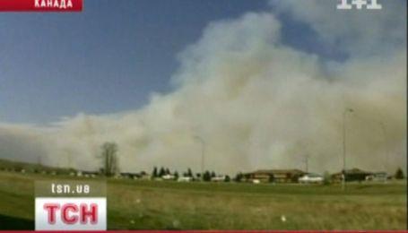 Канадская провинция Альберта страдает от лесных пожаров