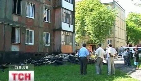 На Прикарпатье ночью загорелась 5-этажка