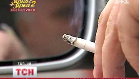 Запрет курение за рулем