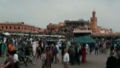 Мощный взрыв произошел в туристическом центре Марокко