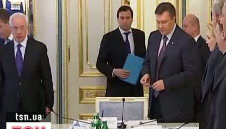 Янукович собирает СНБО